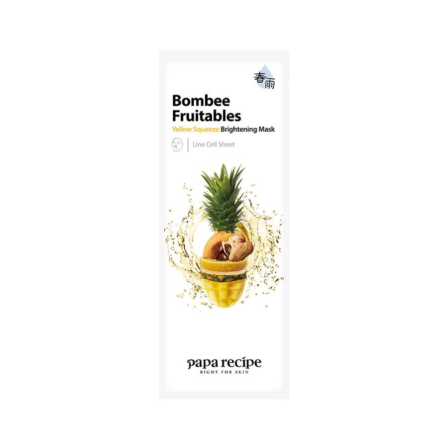 Bombee Fruitables Yellow Squeeze Brightening Mask