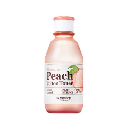 Premium Peach Cotton Toner
