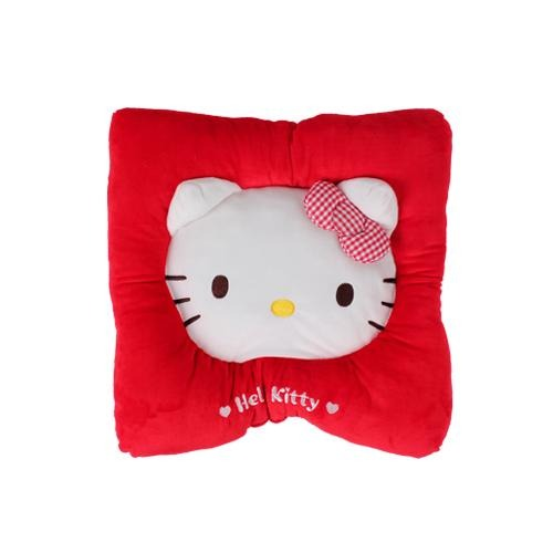 Hello Kitty Sitting Cushion - Red