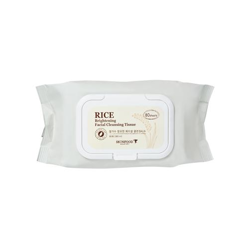 Rice Brightening Facial Cleansing Tissue