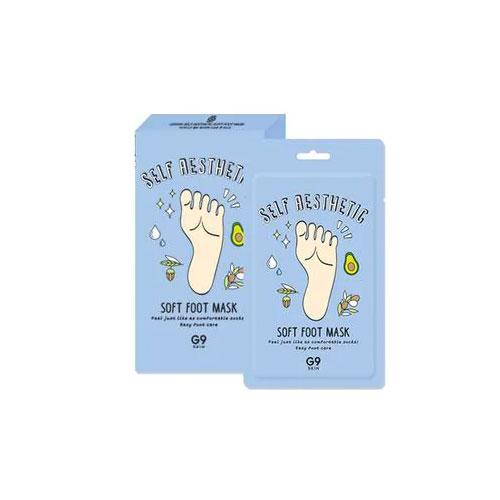 Self Aesthetic Soft Foot Mask - 1 Box of 5 Sheets