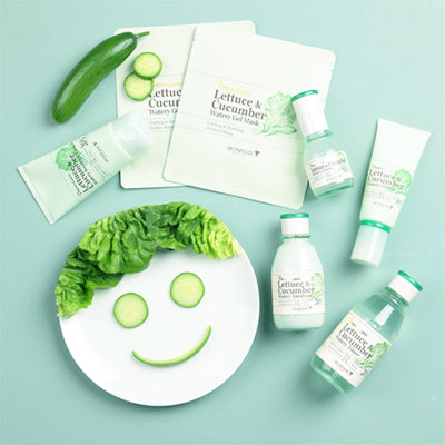 Premium Lettuce and Cucumber Watery Soothing Pack