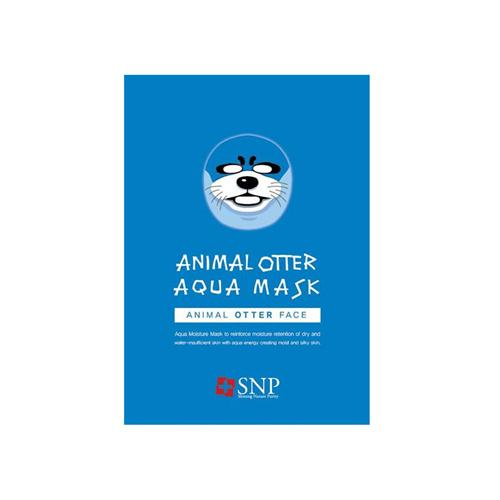 Animal Otter Aqua Mask - 1 Box of 10 Sheets