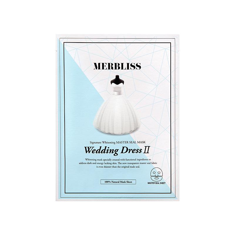 Wedding Dress Signature Whitening Master Seal Mask