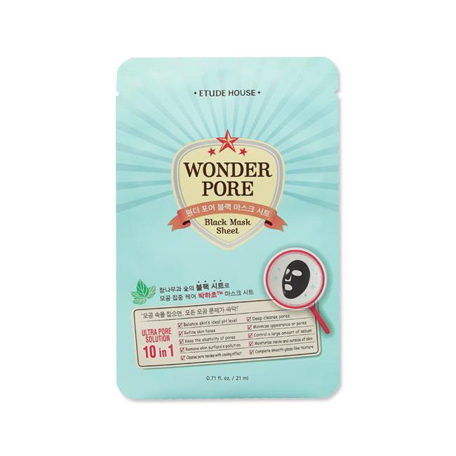 Wonder Pore Black Mask Sheet - 1 Sheet