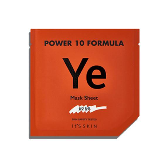 Power 10 Formula YE Mask Sheet - 1 Sheet