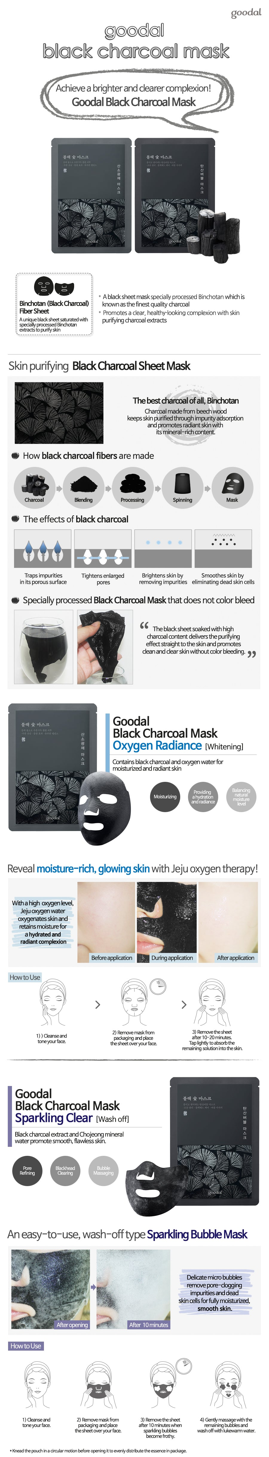 googal Black Charoal mask
