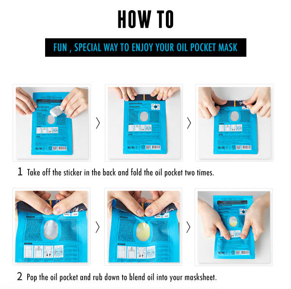 Oil Pocket Mask How to