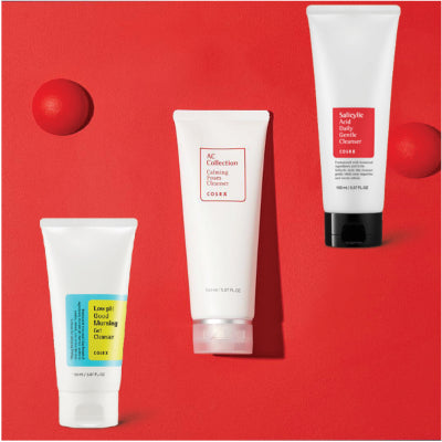 COSRX cleansers