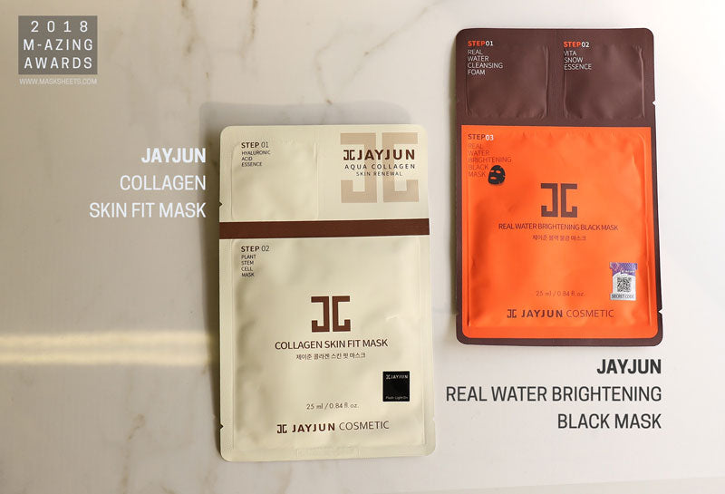 M-Amazing Awards 2018 Jayjun - Real Water Brightening and Collagen Fit Mask