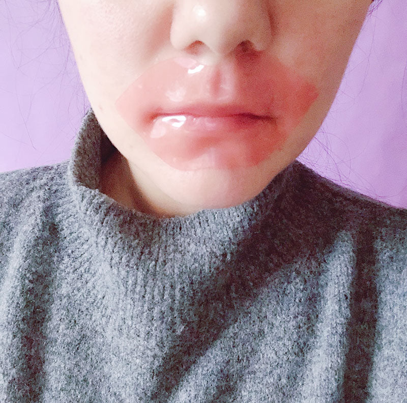 M Review 61 - G9SKIN Self Aesthetic Lip Mask Try On