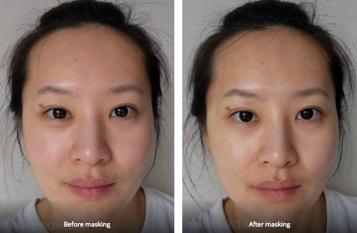 M Review 60 - Dr Jart Cicapair Calming Mask before and after