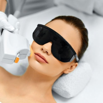 Steps of laser treatments