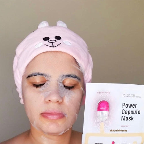 Oozoo Capsule Mask try on - M Review 92