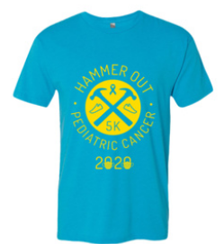 Hammer Out Pediatric Cancer t-shirt
