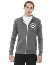 Load image into Gallery viewer, Lightweight Full-Zip Hooded Long Sleeve Tee
