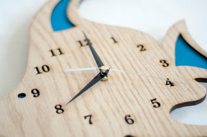 Wooden Themed Clock