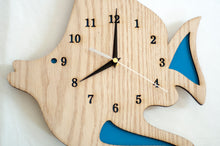 Load image into Gallery viewer, Wooden Themed Clock