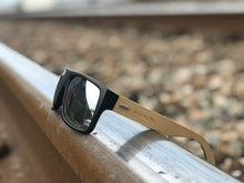 Load image into Gallery viewer, BambuS Shades - Black & Silver