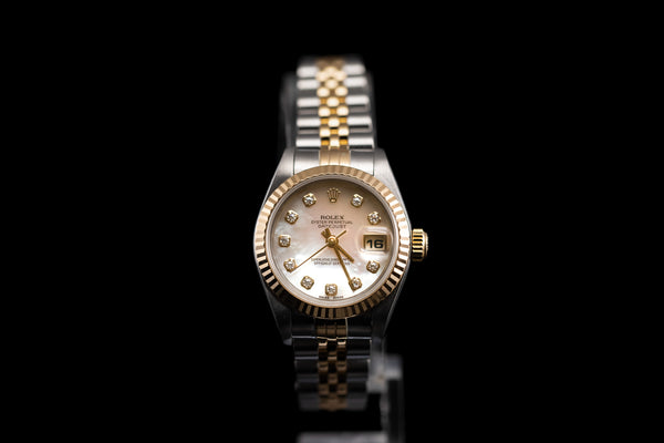 Rolex Ladies Datejust with Mother of Pearl Face