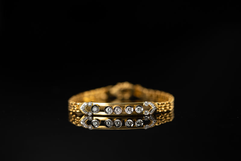 Bracelet with Happy Diamonds