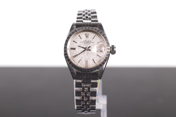 Vintage Ladies' Rolex Oyster Perpetual Date Automatic 6924 Steel