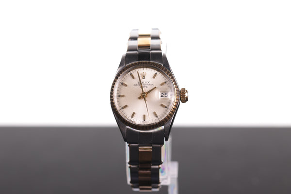 Vintage Ladies' Rolex Perpetual Date 6517 Solid Gold Steel