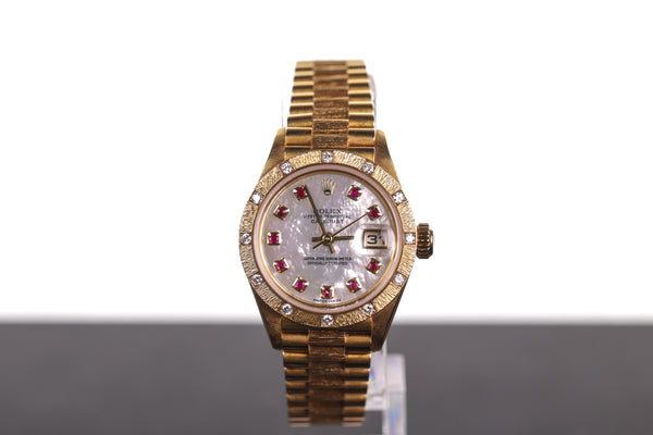Rolex Ladies' Solid Gold