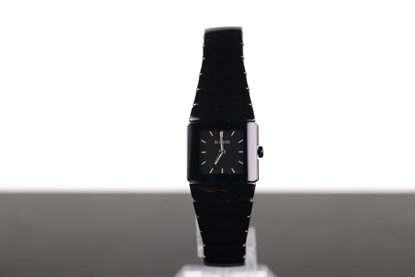 Rado Ladies' Diastar Ceramic in Black Quartz