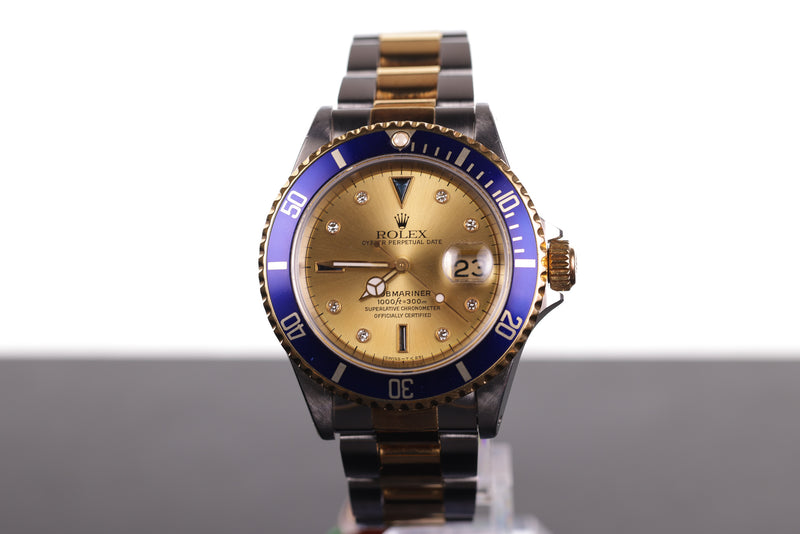 Rolex Submariner Date Gold & Steel with Sultan Dial