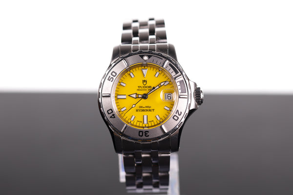 Tudor Mini Oyster Prince 28mm Yellow Sports Face