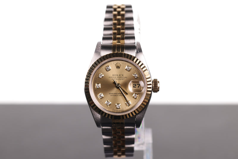 Rolex Lady with Large Diamond