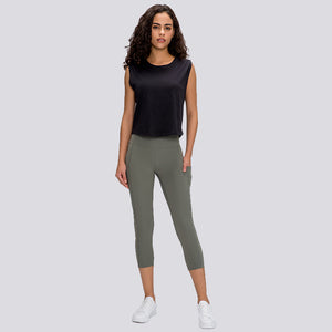Basic Capris with Pockets
