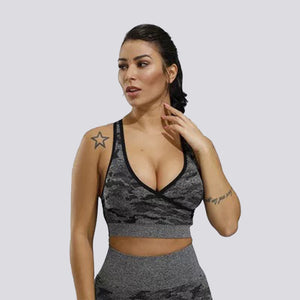 Camo Seamless Bra Copy