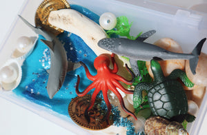 Play dough Play Kit - Sea Creatures