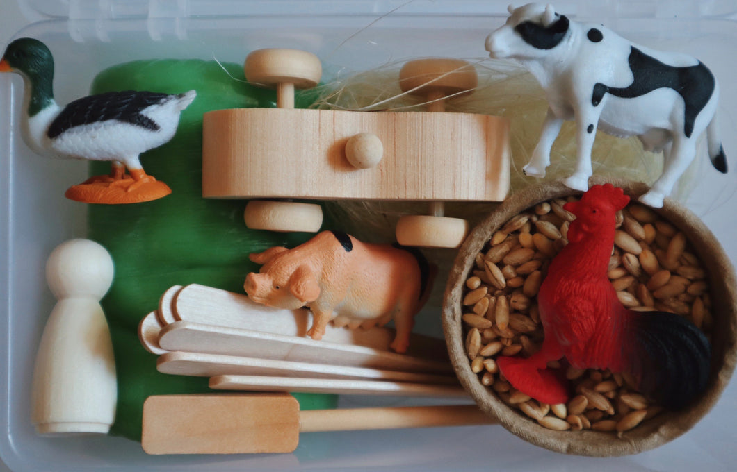 Play Dough Play Kit - Farm
