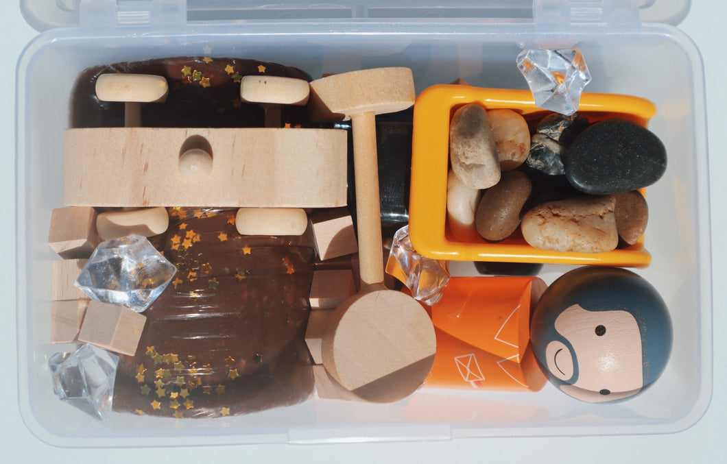 Play Dough Play Kit - Construction