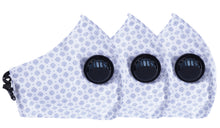 Load image into Gallery viewer, Pack of 3 Face Masks - 3PLY - Europa - Three Layer Filter- Anti Pollution - Polka Dots Pattern