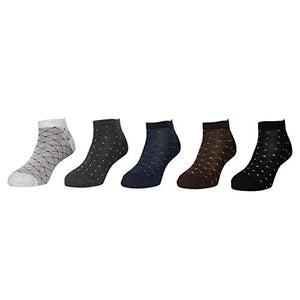 Star sneaker socks - Assorted Pack of 5-100% Cotton Spandex Socks - Men - 02