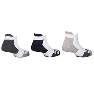 Styles sneaker socks with inside cushion - Assorted Pack of 5-100% Cotton Spandex Socks - Men - 02