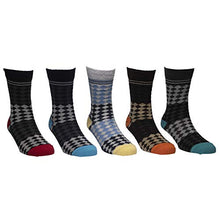Load image into Gallery viewer, Trendy socks - Assorted Pack of 5-100% Cotton Spandex Socks - Men - 02