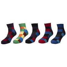Load image into Gallery viewer, Status socks - Assorted Pack of 5-100% Cotton Spandex Socks - Men - 02