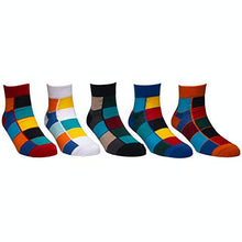 Load image into Gallery viewer, Status socks - Assorted Pack of 5-100% Cotton Spandex Socks - Men - 01