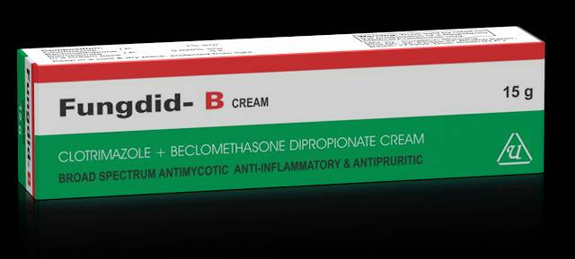 Universal Pharma - Fungdid-B Cream - 15 Grams each tube