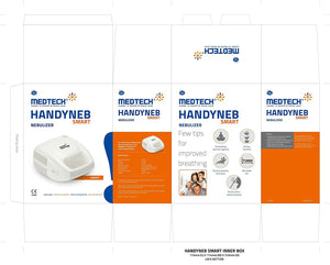Medtech - Nebulizer (Adult Mask with Integrated Baffle, Medicine Bottle Cup, Air Tube, Child Mask)