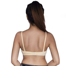 Load image into Gallery viewer, Classic International Cotton Non Wired T-Shirt Bra - BEIGE
