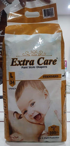 Extra Care Baby Diaper Pants - LARGE
