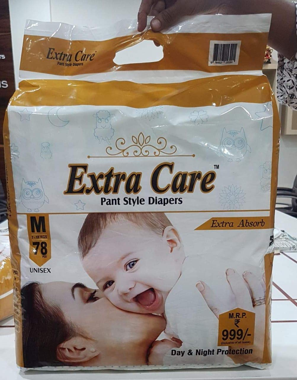 Extra Care Baby Diaper Pants - MEDIUM
