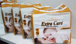 Extra Care Baby Diaper Pants - SMALL
