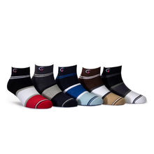Load image into Gallery viewer, Elite (1) - Assorted Pack of 5 - 100% Cotton Spandex Premium Quality Socks